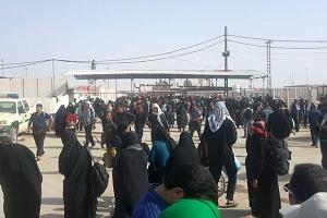 مسؤول: عبور 5 ملايين و 600 الف زائر من معبر مهران خلال شهر ونصف