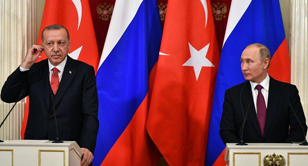 أردوغان: أبحث مع الرئيس بوتين تواجد القوات السورية في منطقة عملياتنا