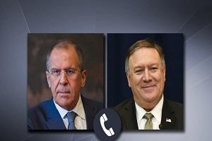 لافروف يؤكد باتصال هاتفي مع بومبيو ضرورة امتناع واشنطن عن اتخاذ خطوات تقوض سيادة سوريا