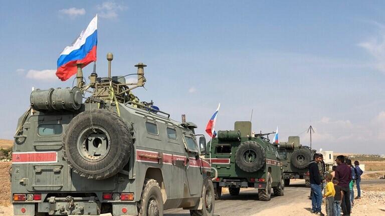 روسيا تنشر نحو 300 عنصر من الشرطة العسكرية شمالي سوريا