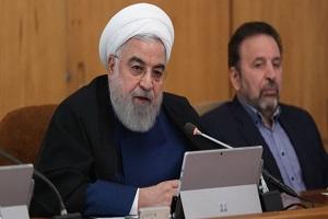 روحاني : لنوحّد صفوفنا في مواجهة السياسات الامريكية