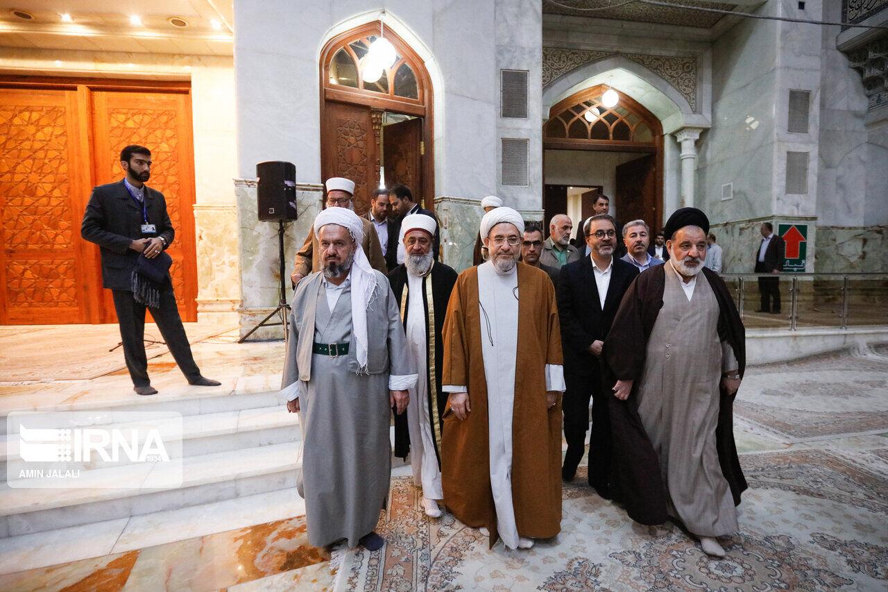 آية الله اراكي يؤكد ضرورة تعميم خطاب مؤتمر الوحدة الاسلامية