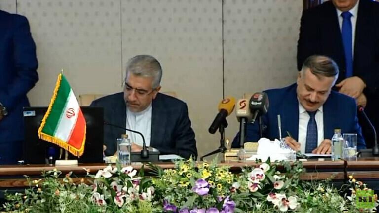 إعادة بناء منظومة الكهرباء السورية ضمن مذكرة تفاهم مع إيران