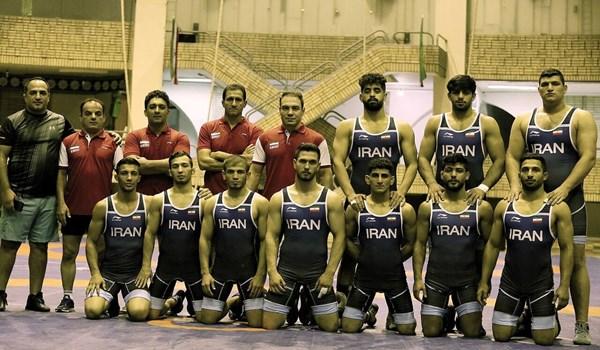 ايران تحرز لقب بطولة العالم للمصارعة الرومانية تحت 23 عاما