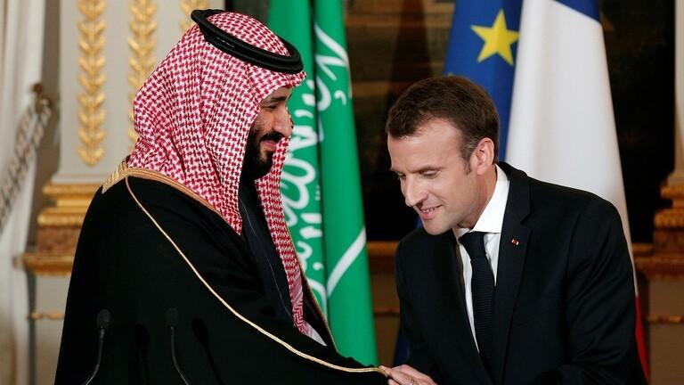 محمد بن سلمان وماكرون يبحثان أمن المنطقة