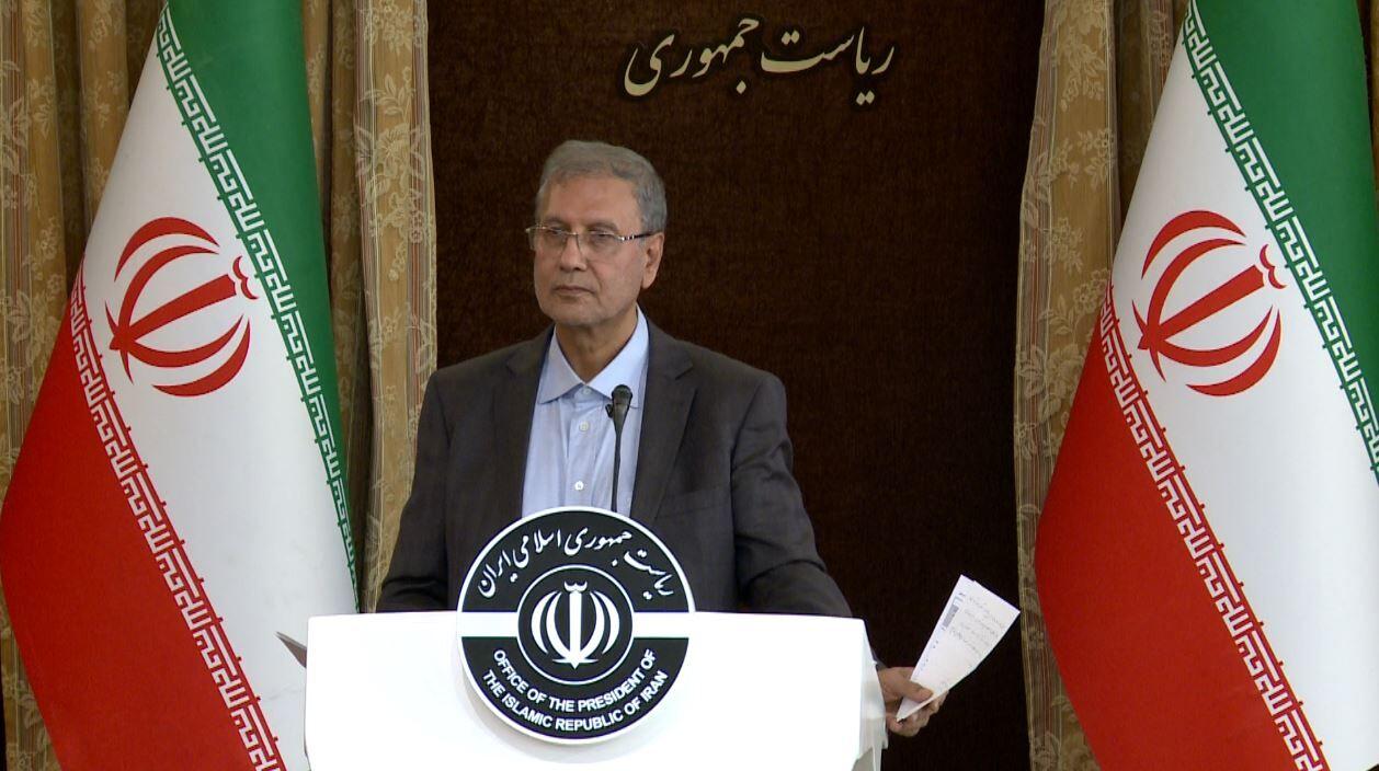 متحدث الحكومة الايرانية: مقاومتنا هي لكسر الحظر الظالم