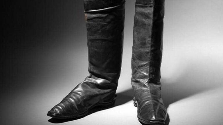 عرض حذاء نابليون بونابرت للبيع في المزاد العلني