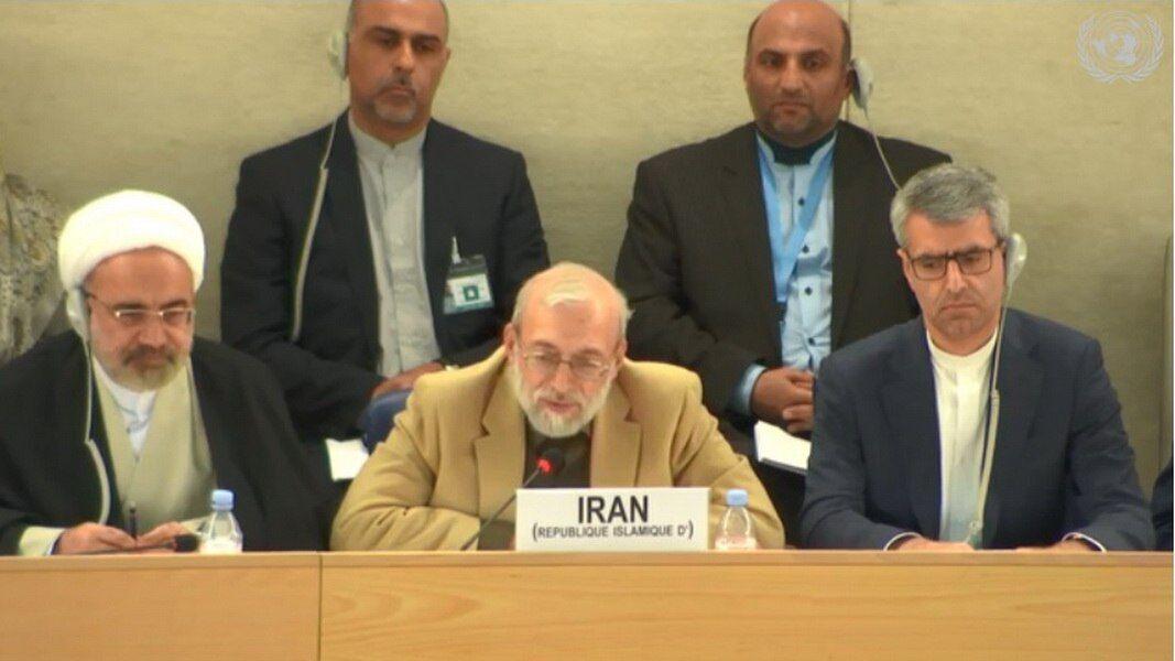 جواد لاريجاني: حقوق الإنسان ليست سلعة غربية