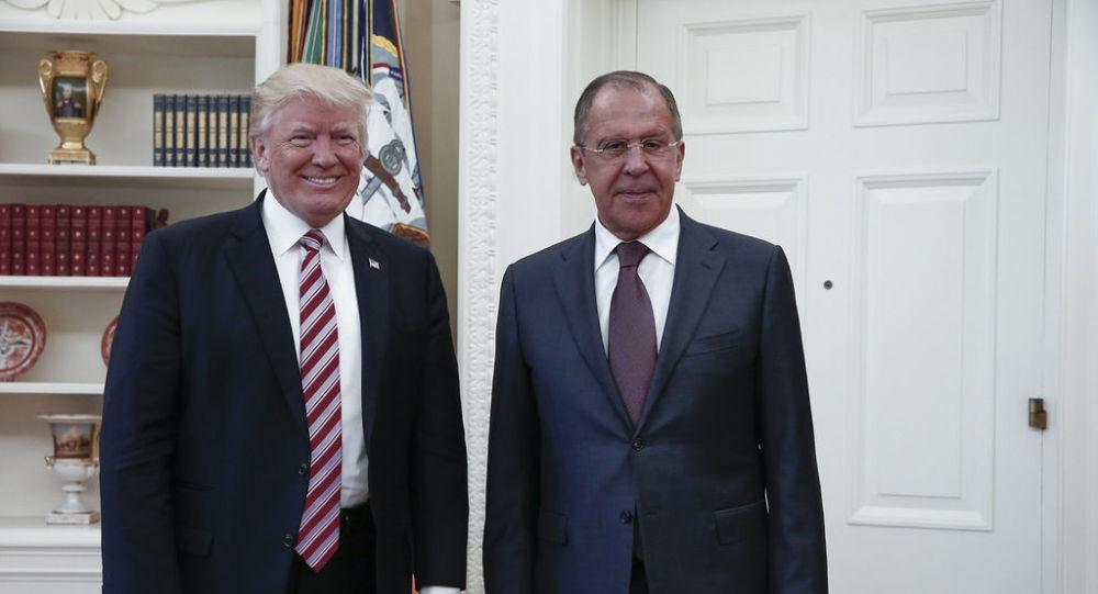 ترامب: تحسين العلاقات الأمريكية الروسية يسمح بتعزيز التجارة بين البلدين