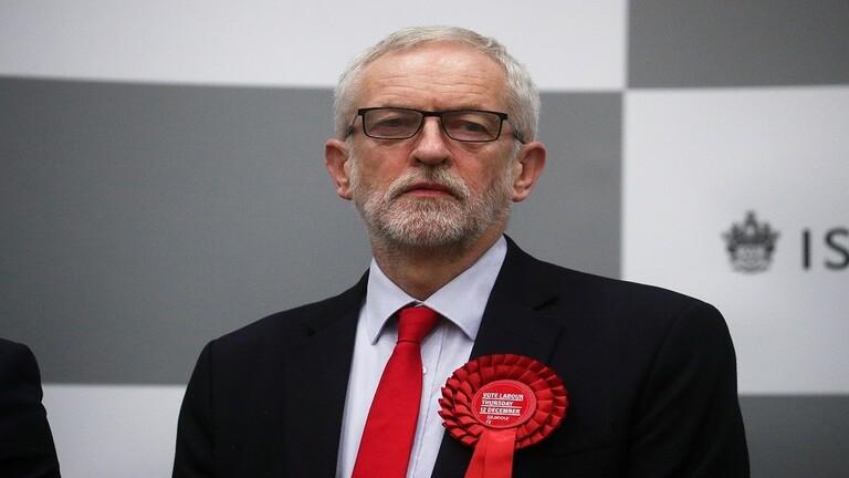 زعيم حزب العمال البريطاني يبدي موقفه حيال نتائج الانتخابات