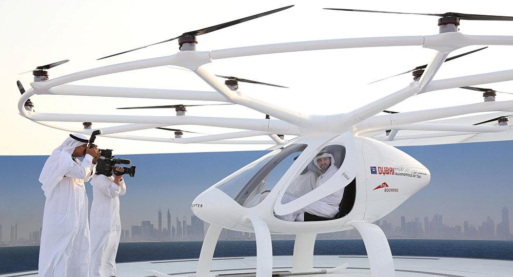 موعد إطلاق التاكسي الجوي في دبي ومواصفاته