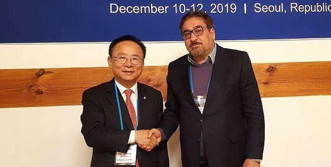 تابش: من الضروري زيادة مستوى التبادل التجاري بين إيران وكوريا الجنوبية