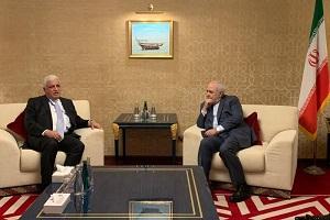 مستشار الامن القومي العراقي يلتقي ظريف بالدوحة