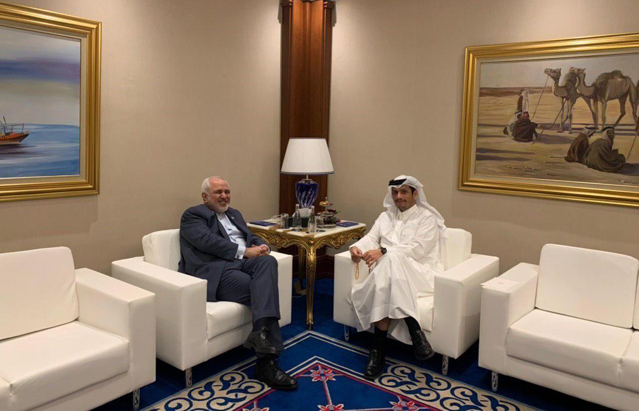 وزيرا خارجية إيران وقطر يبحثان في الدوحة العلاقات الثنائية