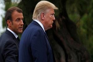تصريحات ماكرون حول الناتو تزعج ترامب