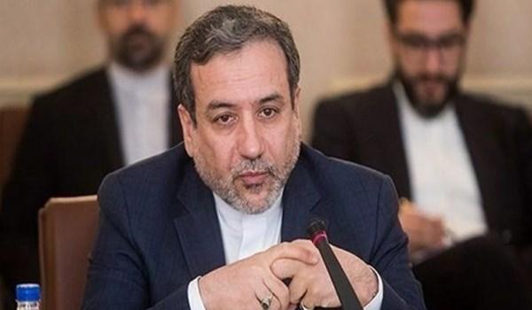عراقجی: لا ينبغي لأحد أن يشكك في نوایا إيران بتخفيض التزاماتها