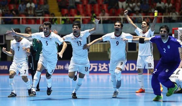 كأس آسيا لكرة الصالات: ايران في المجموعة الرابعة