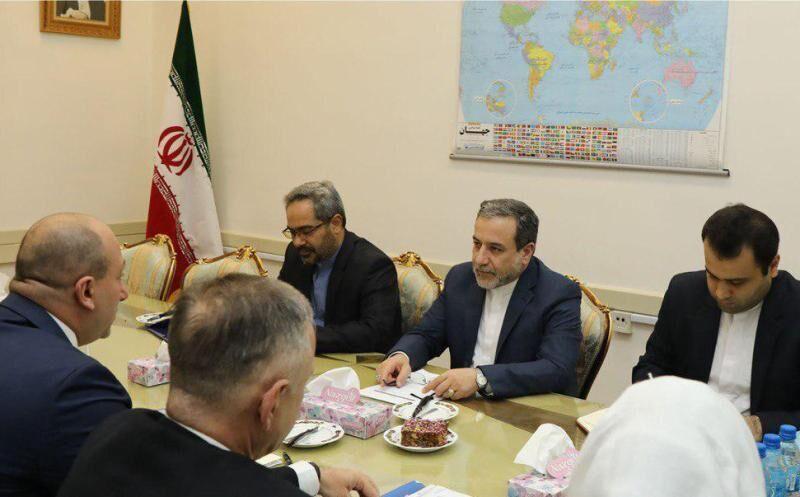 عراقجي : الحظر من شأنه ان يتيح فرصا للتعاون بين ايران وجورجيا