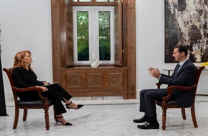 لهذا السبب لم يتم بث مقابلة الأسد مع قناة إيطالية