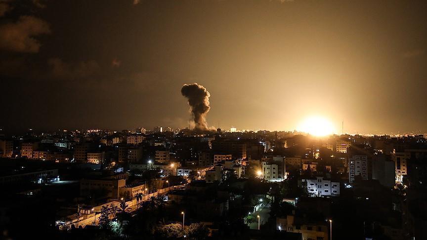 المدفعية الإسرائيلية تقصف مرصدين لـ