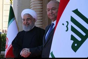 زيارة روحاني الي العراق أغاظت الصهاينة والأميركان
