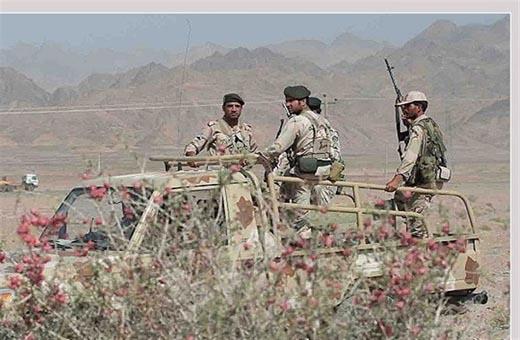 استشهاد ضابط من حرس الحدود الايراني غربي البلاد
