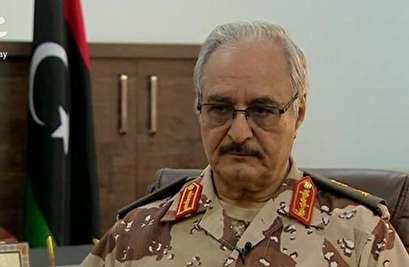 تظاهرة أهالي بنغازي دعماَ للقوات المسلحة الليبية