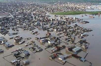 الجيش يهب لإغاثة متضرري السيول شمال ايران
