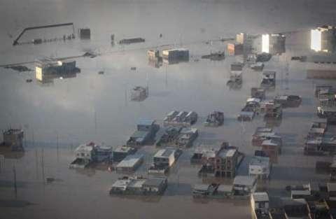 جهانغیری: الحكومة تبذل اقصي جهودها لاغاثة منكوبی السیول