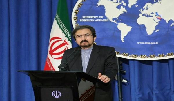 قاسمي لواشنطن: لا یمكنكم السطو على اموال الشعب الايراني عبر فبركة الاكاذيب