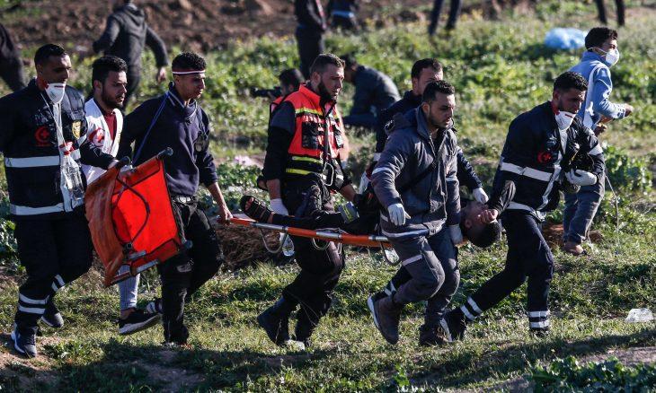 266 شهيدا برصاص الاحتلال في غزة خلال عام من مسيرات العودة