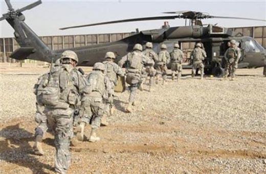 معدات عسكرية واعداد كبيرة من عناصر ارهابية بين قاعدة عين الاسد الجوية وبرعاية اميركية
