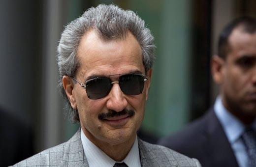الوليد بن طلال يتغزل بابن سلمان وآل الشيخ ويثير سخرية الناشطين!