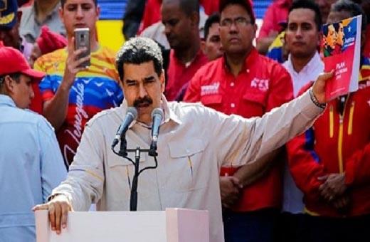 مادورو لواشنطن: عقوباتكم ستمنحنا مزيدا من القوة والعزم