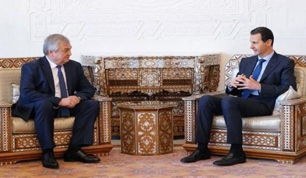 الرئيس السوري يؤكد ضرورة تنفيذ ما تم الاتفاق عليه سابقا حول إدلب