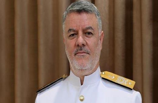 قائد البحرية الايرانية يتوجه الى الصين