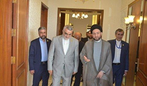 بروجردي يؤكد ضرورة تعزيز التعاون البرلماني بين ايران والعراق
