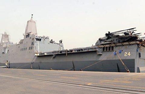 فضيحة في سفينة حربية تابعة للبحرية الأميركية