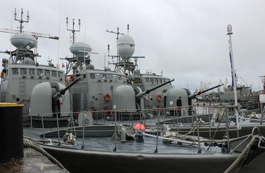 المجموعة التاسعة من السفن الحربية الإيرانية التي تحمل رسالة السلام والصداقة تتوجه نحو كازاخستان