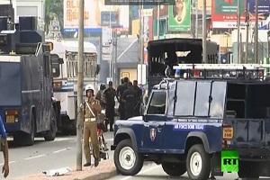 انفجار قنبلة قرب كنيسة في العاصمة السريلانكية كولومبو أثناء محاولة الشرطة تفكيكها
