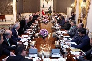 لا تسمح طهران وإسلام اباد للآخرین بالتدخل فی مسار تعزیز العلاقات