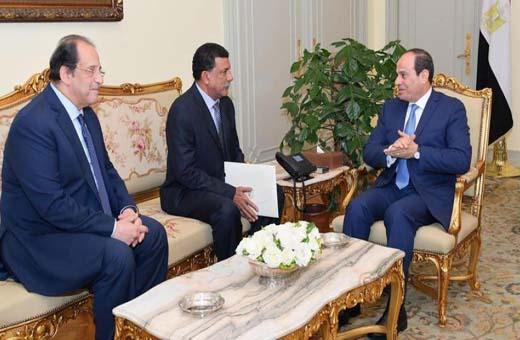 رئيس المخابرات السودانية يلتقي السيسي في القاهرة
