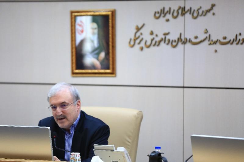 وزیر الصحة الایرانی یطلب الاسراع فی تدشین القناة المالیة الخاصة بالسلع الاساسیة
