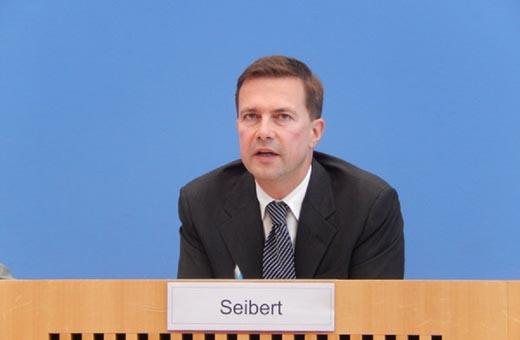 المتحدث باسم الحكومة الالمانية : نسعي لتفعيل قناة تجارية قانونية مع ايران