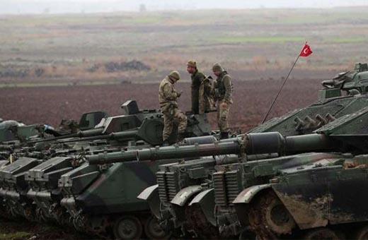 الجيش التركي يسهّل مرور الارهابيين من عفرين الى سهل الغاب