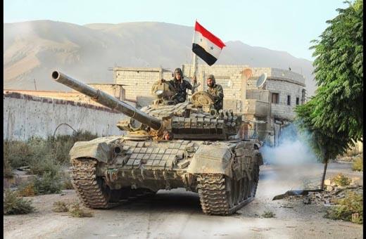 محاولة تركيه لتقييد تقدم الجيش السوري في سهل الغاب