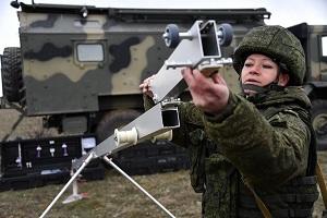 الجيش الروسي يطبق طريقة جماعية لاستخدام الطائرات من دون طيار