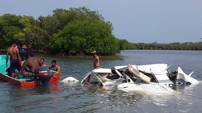 مقتل 5 سائحين أجانب في تحطم طائرة بهندوراس