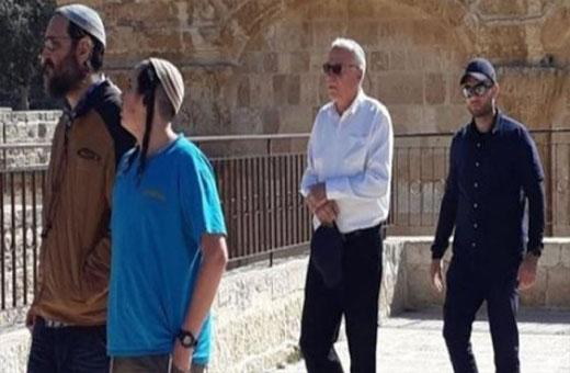 اقتحام جديد للاقصى بقيادة وزير الزراعة الإسرائيلي