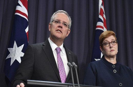 حكومة رئيس الوزراء الأسترالي تحقيق مفاجأة في الانتخابات التشريعية